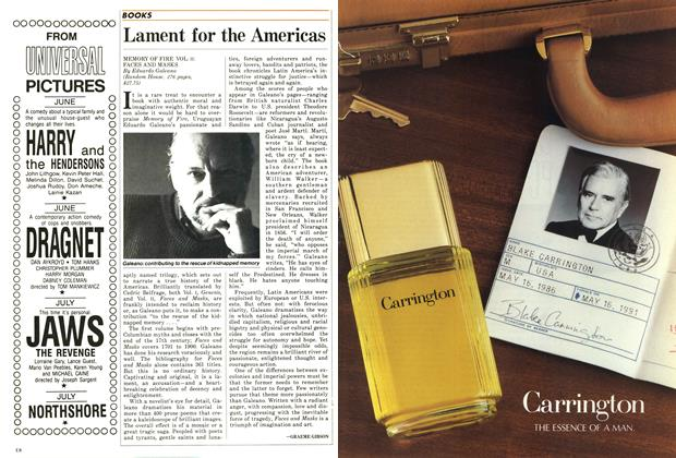 Article Preview: Lament for the Americas, June 1987 | Maclean's