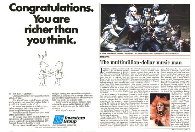 Article Preview: The multimillion-dollar music man, June 1987 | Maclean's