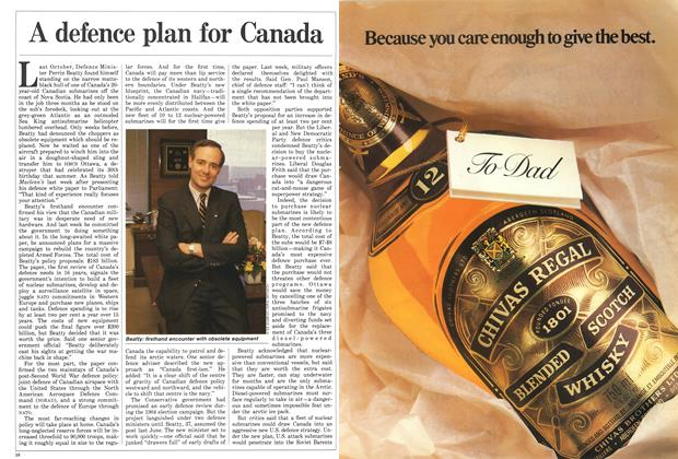 Article Preview: A defence plan for Canada, June 1987 | Maclean's