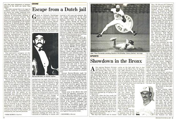 Article Preview: Showdown in the Bronx, June 1987 | Maclean's