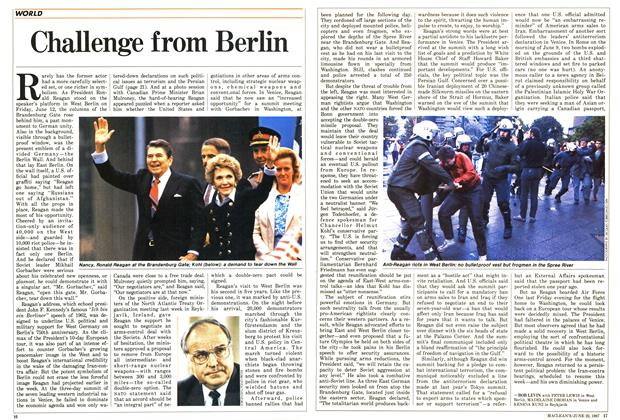 Article Preview: Challenge from Berlin, June 1987 | Maclean's