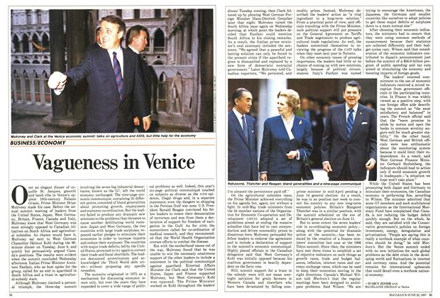 Article Preview: Vagueness in Venice, June 1987 | Maclean's