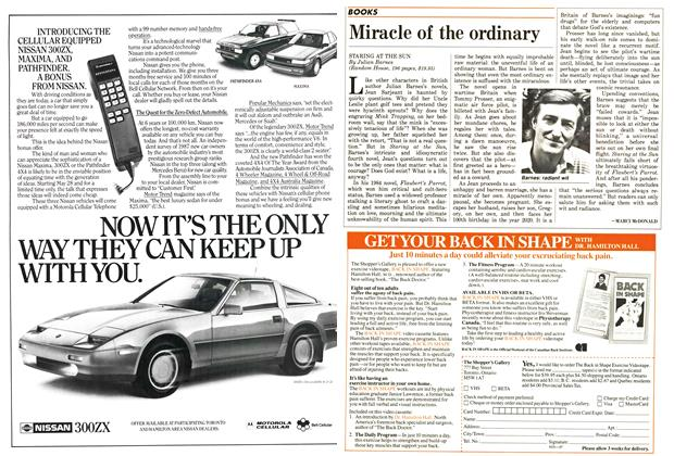 Article Preview: Miracle of the ordinary, June 1987 | Maclean's