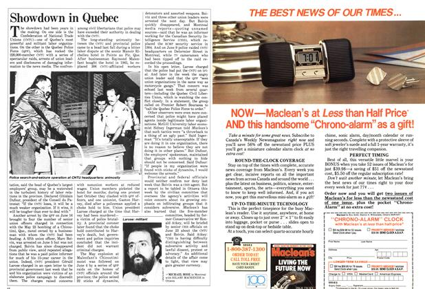 Article Preview: Showdown in Quebec, June 1987 | Maclean's