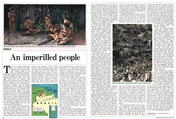 Article Preview: An imperilled people, June 1987 | Maclean's