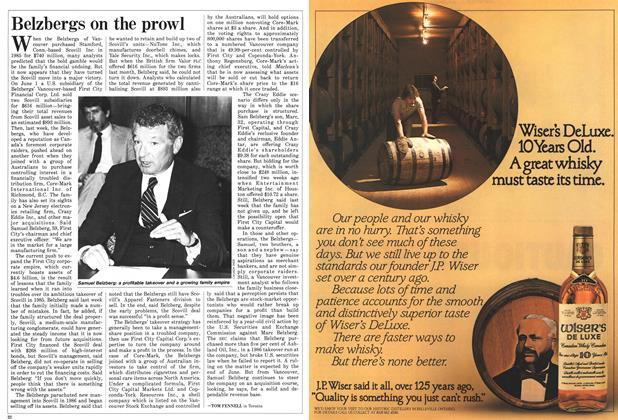 Article Preview: Belzbergs on the prowl, June 1987 | Maclean's