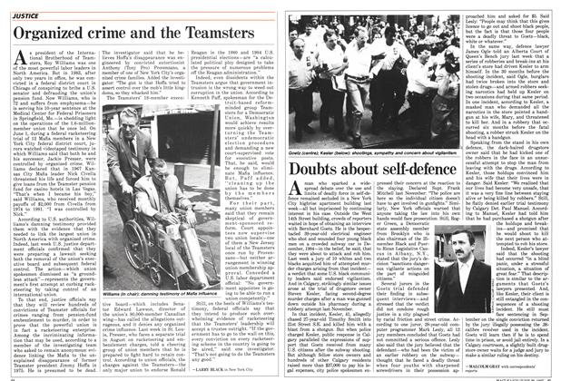 Article Preview: Organized crime and the Teamsters, June 1987 | Maclean's