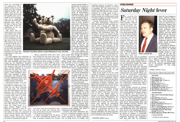 Article Preview: Saturday Night fever, June 1987 | Maclean's