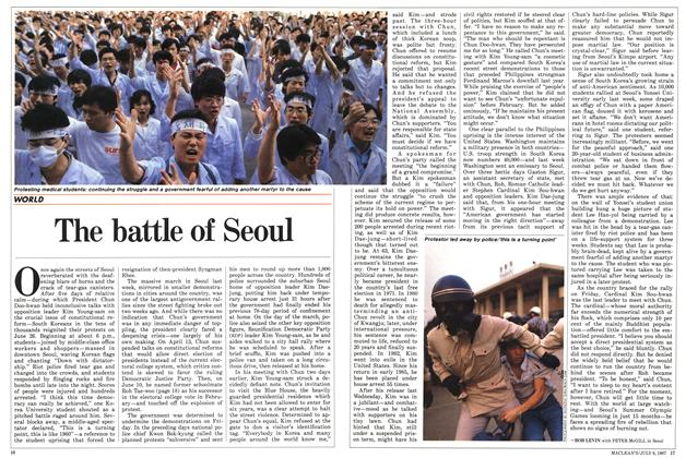 Article Preview: The battle of Seoul, July 1987 | Maclean's