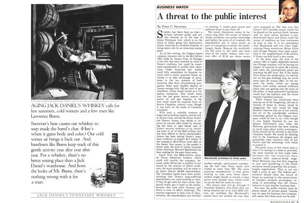 Article Preview: A threat to the public interest, July 1987 | Maclean's