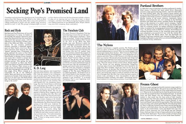 Article Preview: Seeking Pop's Promised Land, July 1987 | Maclean's