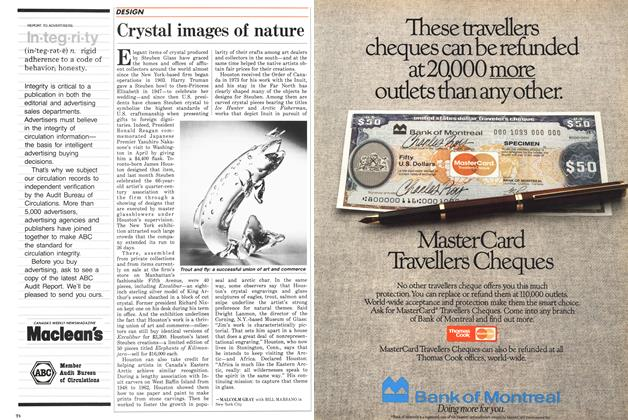 Article Preview: Crystal images of nature, July 1987 | Maclean's