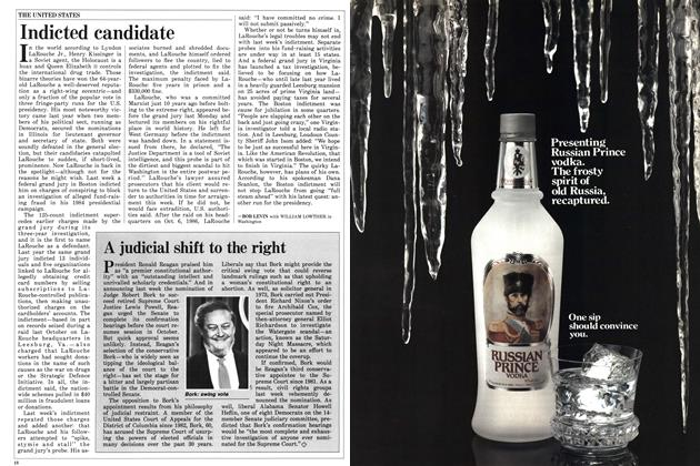 Article Preview: Indicted candidate, July 1987 | Maclean's