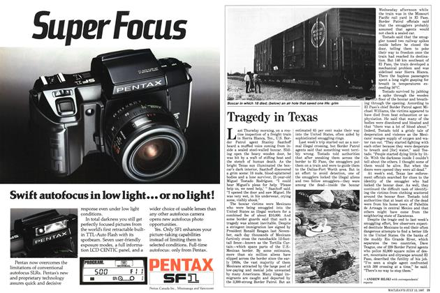 Article Preview: Tragedy in Texas, July 1987 | Maclean's