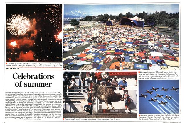 Article Preview: Celebrations of summer, July 1987 | Maclean's
