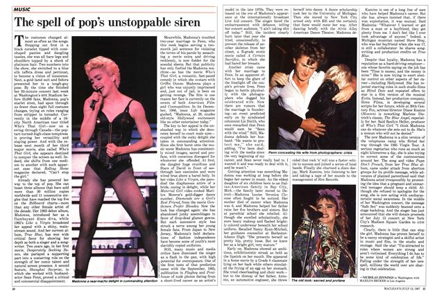 Article Preview: The spell of pop's unstoppable siren, July 1987 | Maclean's