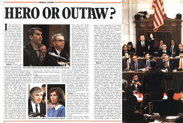 Article Preview: HERO OR OUTLAW, July 1987 | Maclean's