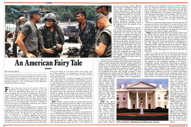 Article Preview: An American Fairy Tale, July 1987 | Maclean's