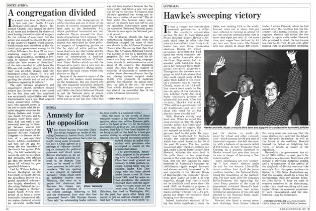 Article Preview: Hawke's sweeping victory, July 1987 | Maclean's