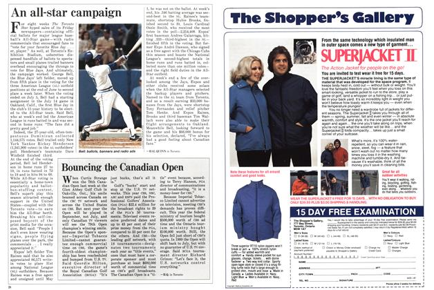 Article Preview: An all-star campaign, July 1987 | Maclean's