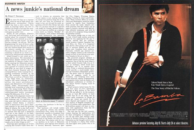 Article Preview: A news junkie's national dream, July 1987 | Maclean's