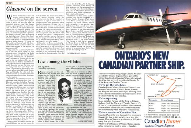 Article Preview: Glasnost on the screen, July 1987 | Maclean's