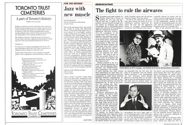 Article Preview: The fight to rule the airwaves, July 1987 | Maclean's