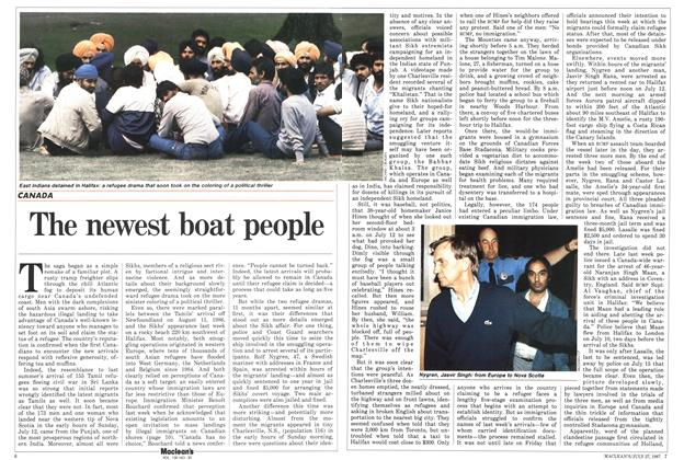 Article Preview: The newest boat people, July 1987 | Maclean's