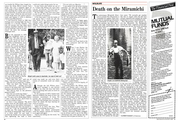 Article Preview: Death on the Miramichi, August 1987 | Maclean's