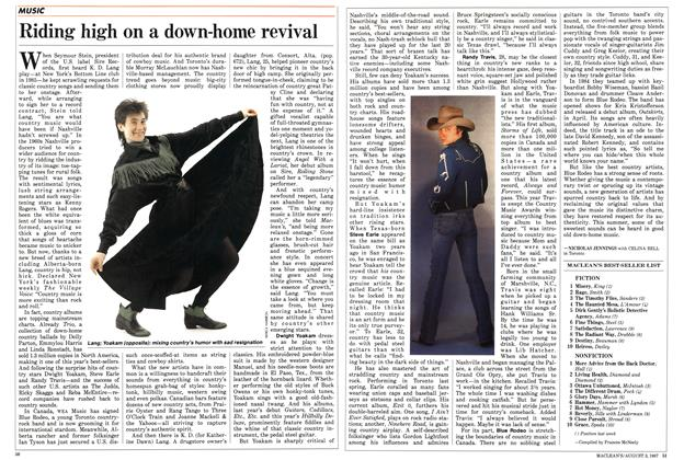 Article Preview: Riding high on a down-home revival, August 1987 | Maclean's