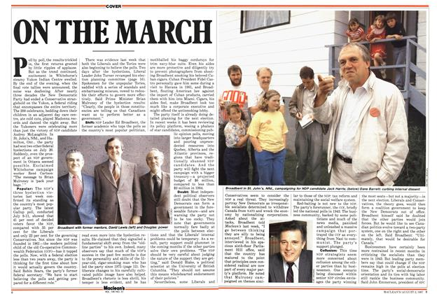 Article Preview: ON THE MARCH, August 1987 | Maclean's