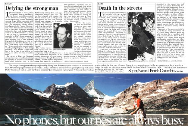 Article Preview: Death in the streets, August 1987 | Maclean's