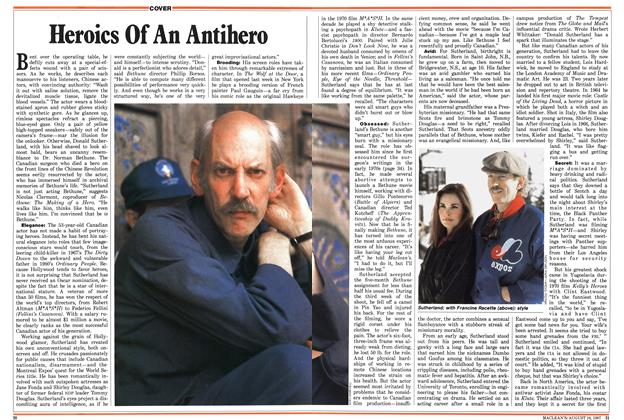 Article Preview: Heroics Of An Antihero, August 1987 | Maclean's