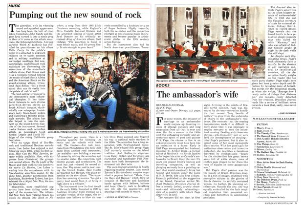 Article Preview: The ambassador's wife, August 1987 | Maclean's