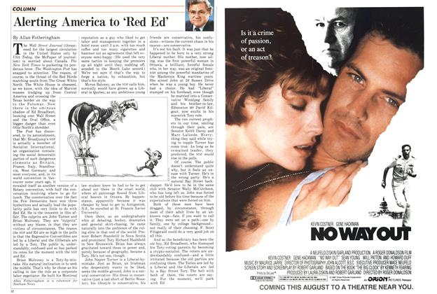 Article Preview: Alerting America to 'Red Ed', August 1987 | Maclean's