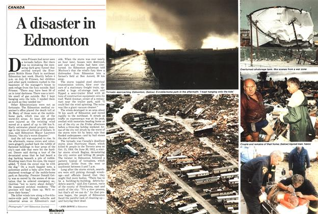 Article Preview: A disaster in Edmonton, August 1987 | Maclean's