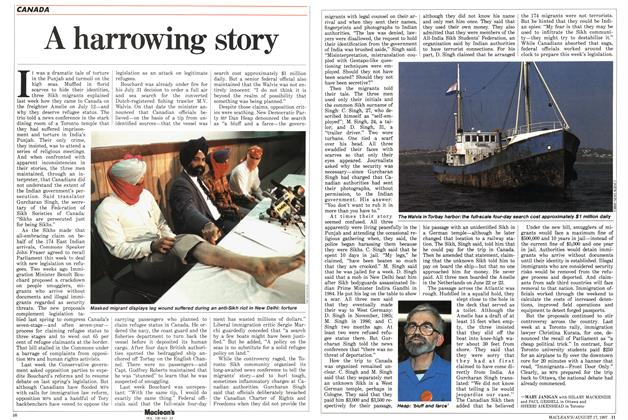 Article Preview: A harrowing story, August 1987 | Maclean's