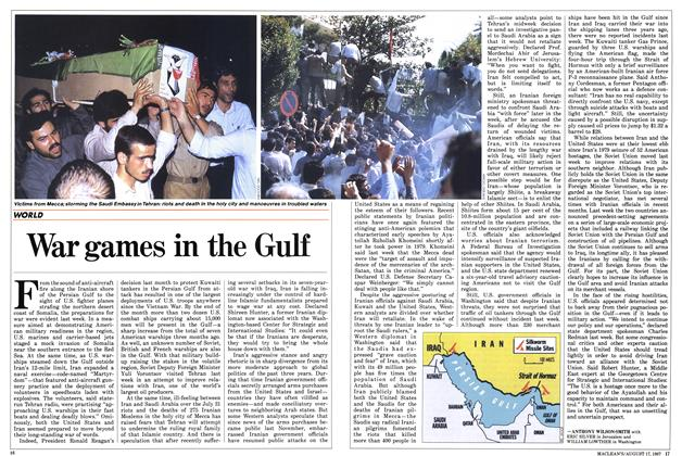 Article Preview: War games in the Gulf, August 1987 | Maclean's