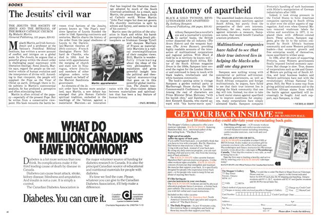 Article Preview: Anatomy of apartheid, August 1987 | Maclean's