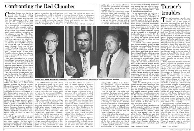 Article Preview: Confronting the Red Chamber, August 1987 | Maclean's