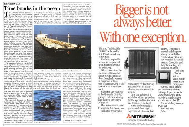Article Preview: Time bombs in the ocean, August 1987 | Maclean's