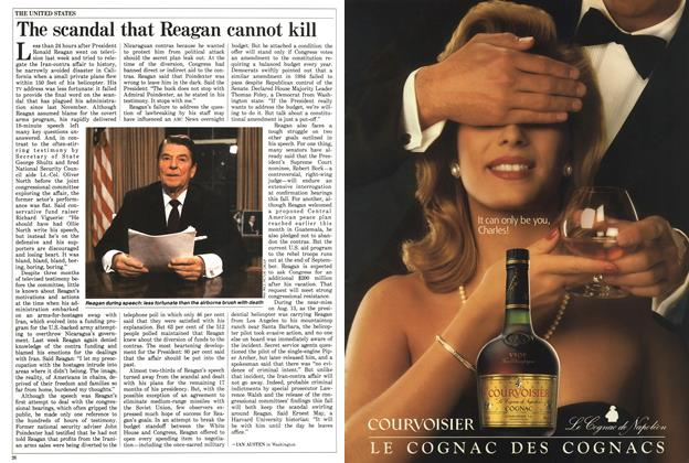 Article Preview: The scandal that Reagan cannot kill, August 1987 | Maclean's