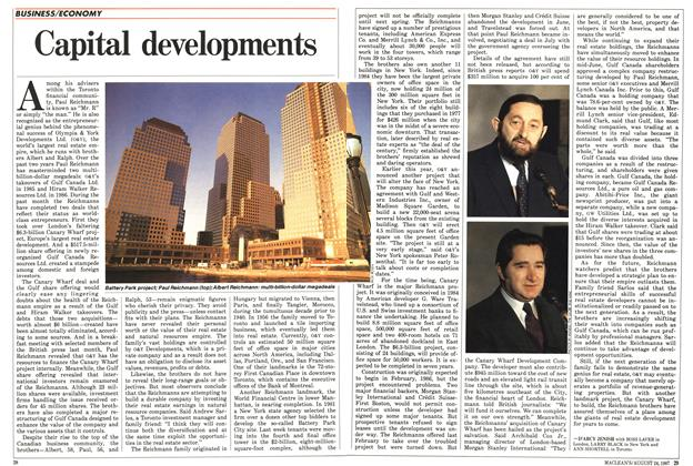 Article Preview: Capital developments, August 1987 | Maclean's