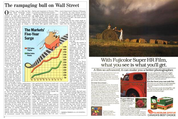 Article Preview: The rampaging bull on Wall Street, August 1987 | Maclean's