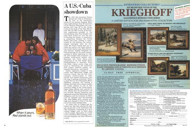 Article Preview: A U.S.-Cuba showdown, August 1987 | Maclean's