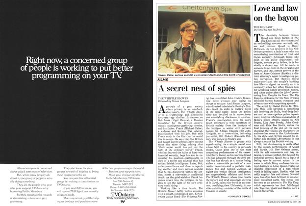 Article Preview: A secret nest of spies, August 1987 | Maclean's