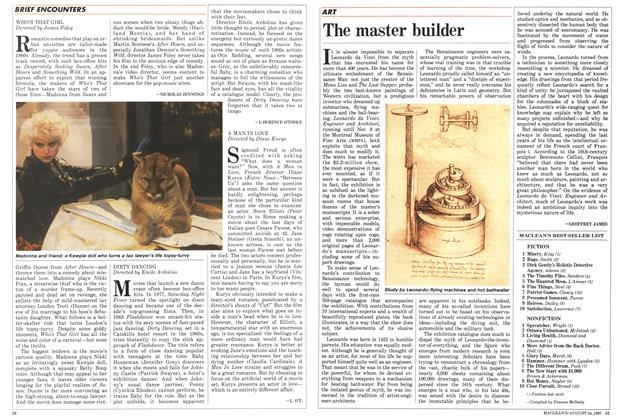 Article Preview: The master builder, August 1987 | Maclean's
