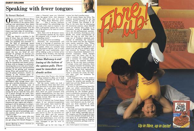 Article Preview: Speaking with fewer tongues, August 1987 | Maclean's