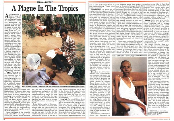 Article Preview: A Plague In The Tropics, August 1987 | Maclean's