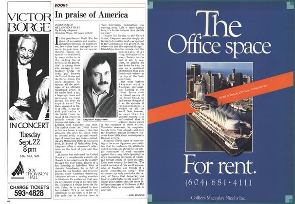 Article Preview: In praise of America, August 1987   Maclean's